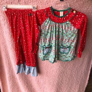 Matilda Jane winter pajamas set